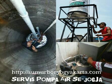 Pompa Air Bantul Ahli Sumur Bor Servis